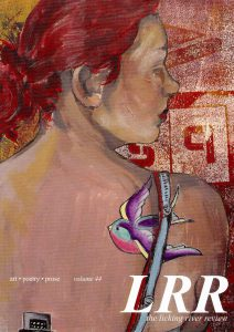 Licking River Review, volume 44, Cover Art by Nicci Mechler