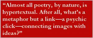 Poetry is Hypertextual