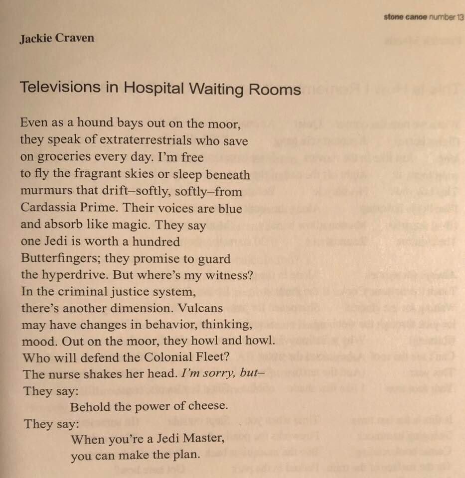 Poem by Jackie Craven
